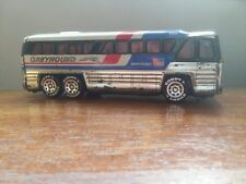 Vintage 1979 Buddy L. Corp Greyhound Bus Americruiser Tin Toy Japan