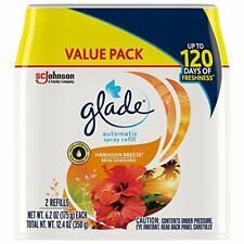 Glade Automatic Spray Refill, Air Freshener for Home & Bathroom, Hawaiian Breeze