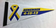 Boston Marathon Remember 2013 Commemoritive Fenway Park Mini Pennant FREESHIP