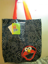 new Sesame Street Elmo tote bag shopper foldable easy carry shopping bags