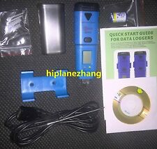 Mini 3-Channel USB Data Logger Internal External Temperature Humidity Li-battery