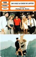 FICHE CINEMA : ON A VOLE LA CUISSE DE JUPITER - Girardot,Noiret,De Broca 1980