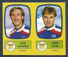 PANINI FOOTBALL 88-#492-A-B-DUNDEE-ALAN LAWRENCE / TOMMY COYNE