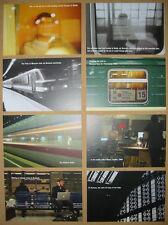 KEANE Night Train set of 8 US promo postcards MINT