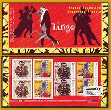 POCHETTE EMISSION COMMUNE 2006 FRANCE ARGENTINE DANSE TANGO P3932 JOINT ISSUE