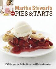 Martha Stewart's New Pies and Tarts by Stewart, Martha Book The Fast Free