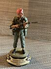 Charles Stadden Pewter Figure Studio Painted Private Of The Parachute Regiment