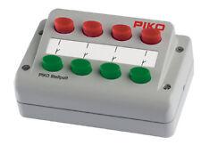 PIKO 55262 pulsantiera universale per scambi 0-24V dc/ac - 4 scambi - NUOVO
