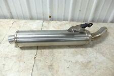 02 Triumph Sprint ST 955 muffler pipe exhaust