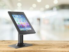 Safe and Secure Tablet Desktop Display Stand for 12.9 iPad Pro, Black