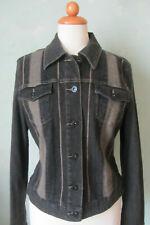 Mexx Jacke Jeansjacke grau Größe 42 XL (S23) #
