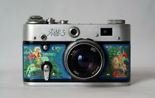 Unique FED 3 Camera 35mm Film Rangefinder USSR Russian Folk Art Skin LOMO Fed-3