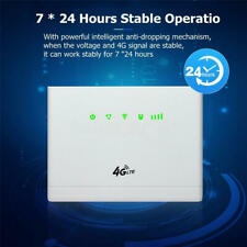 4G-CPE 300Mbps Router Five-modes LTE 4 Antenna Wireless WiFi SIM Card Slot CP108