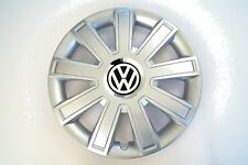 "fits VW GOLF, FOX, TOURAN SET OF 4 x 14"" Wheel Trims, Hub Caps silver covers #99"