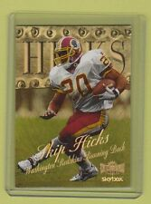 1999 Fleer Metal Skybox Precious Metal Gems Skip Hicks Washington Redskins #7/50
