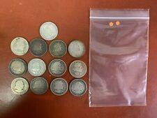 Lot of (13) 1892 & 1893 SILVER Comm. COLUMBIAN EXPOSITION HALF DOLLARS (orange)