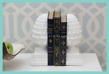 IN STOCK! Hamptons style Acorn Bookends - FREE DELIVERY metro areas