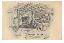 Vintage Postcard Poundridge New York Emily Shaw's Inn English Tap Room