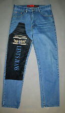LEVI'S 501 LIMITED EDITION WITH LOGOS Straight Fit men Jeans Size 31x32