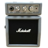 MARSHALL MS-2J mini amplificatore portatile a batteria per Chitarra iPhone iPad