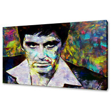 Tony Montana Scarface Al Pacino Canvas Print Picture Wall Art Modern Design