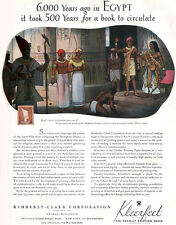 Memphite Drama Egyptians EGYPT Kleerfect Paper ROLF KLEP 1935 Magazine Print Ad