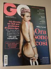 MILEY CYRUS COVER=EDDIE REDMAYNE=VALENTINA CREPAX GUIDO=MAGAZINE GQ 2013