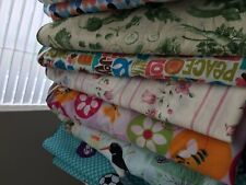 10 Printed Daycare cot sheets standard size 22x52 elastic all 4 sides-Sale!