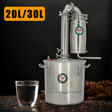 20L/30L Edelstahl kessel Alkohol Destillieranlage Destille Wein Schnapsbrennen