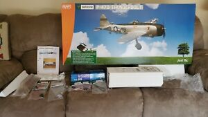 ParkZone P-47D. R/C Airplane. BNF + Retracts + Flaps + Razorback Mod.