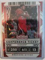2020 Panini Contenders Draft Deandre Ayton Ticket Variation /99 SSP Phoenix Suns