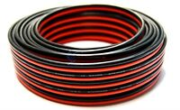 12 Gauge 50 Feet Red Black Car Audio Stereo Wire Stranded Copper Clad Zip Cable
