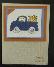 YOU NEED at least ONE WOOD GRAIN embossing folder (THIS IS IT!) + Stampin Up bow