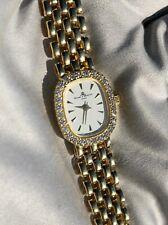 Baume & Mercier Ladies 14k Yellow Gold & Diamonds Bracelet Watch lady COMPLETE