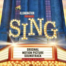 Sing (Original Motion Picture Soundtrack) - Various Artists - Deluxe Ed (NEW CD)