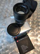Leica Summarit-M 90 mm F/2.5 MF Objektiv (Schwarz)