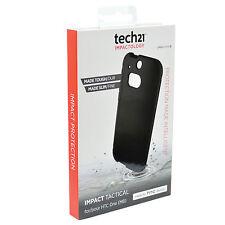 Véritable Tech21 D30 Impact Tactique étui pour Officiel HTC One M8 Noir Neuf