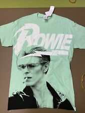 David Bowie size medium t shirt new with tags