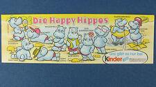 Les Happy Troupeau-Original Notice-Ü-OEUF BPZ 1988