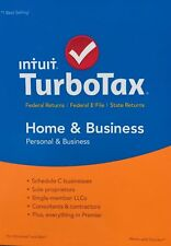 Intuit TurboTax Home & Business 2017 - Quick Digital Download for MAC - APPLE