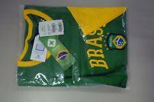 PIERIM XXL Brazil Camiseta Verde, Green Short Sleeve Shirt, World Cup Brasil