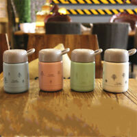 300ML Warm Water Drink Bottle Stainless Steel Insulated Vacuum Thermos Cup Mini