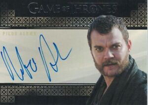 Game of Thrones Inflexions (2019): Pilou Asbaek autograph