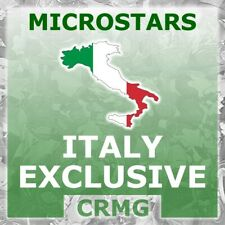 CRMG Corinthian MicroStars ITALY EXCLUSIVES (like SoccerStarz)