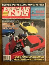 1984 Popular Cars Corvette Issue 63 Split Window 57 Stingray Follmer Bondurant