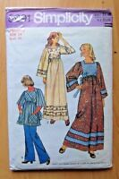 SIMPLICITY SEWING PATTERN NO.5991 LADIES DRESS SIZE 14 VINTAGE
