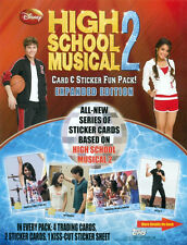 PROMO SELL SHEET AD- DISNEY-HIGH SCHOOL MUSICAL 2 - LOT OF 10 SHEETS-MINI POSTER