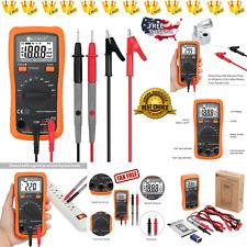 New Digital Multimeter Fluke Meter Volt Tester Electric Ohm Ac DC Rms AutoRange