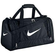 Nike Brasilia Duffel Bag Training Sports Holdall gym Travel Bag Small -- Black