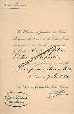FORBIN (Louis Nicolas Philippe Auguste de, comte) peintre français d'histoire
